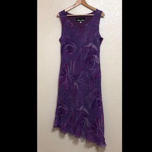 Megan Matthews Floral Abstract Dress - 16